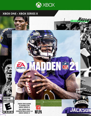 Madden NFL 21 Xbox One Used