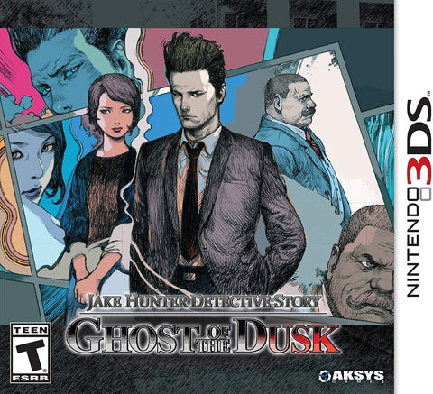 Jake Hunter Detective Story Ghost Of The Dusk 3DS Used Cartridge Only