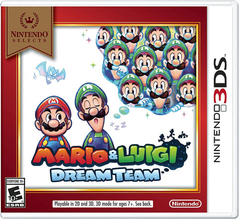 Mario & Luigi Dream Team Nintendo Selects 3DS Used