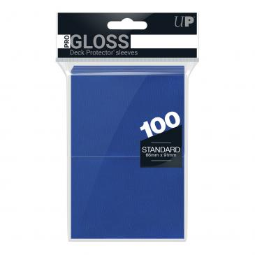 Deck Protector Sleeves Ultra Pro 100ct Blue New