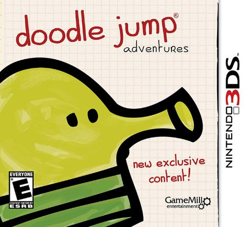 Doodle Jump Adventures 3DS Used