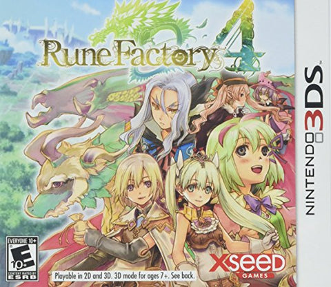 Rune Factory 4 3DS Used