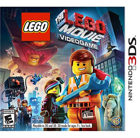 Lego Movie Videogame 3DS New