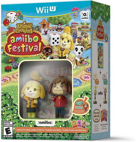 Animal Crossing Amiibo Festival Wii U New