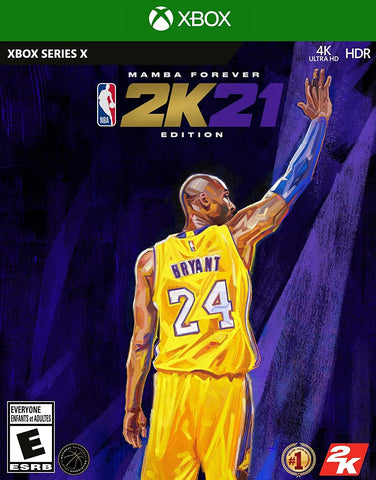 NBA 2K21 Mamba Forever Edition Xbox Series X New