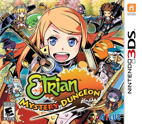 Etrian Mystery Dungeon 3DS Used Cartridge Only