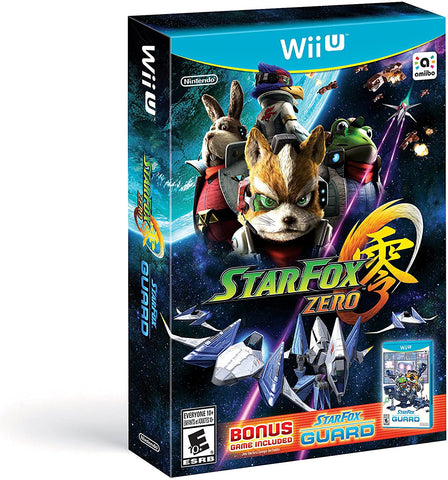 Star Fox Zero & Star Fox Guard Wii U New