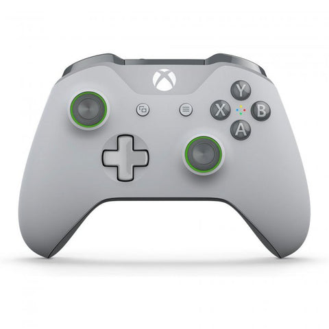 Xbox One Controller Wireless Microsoft Grey Green New
