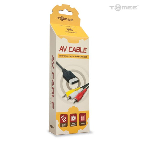 Dreamcast AV Cable Tomee New
