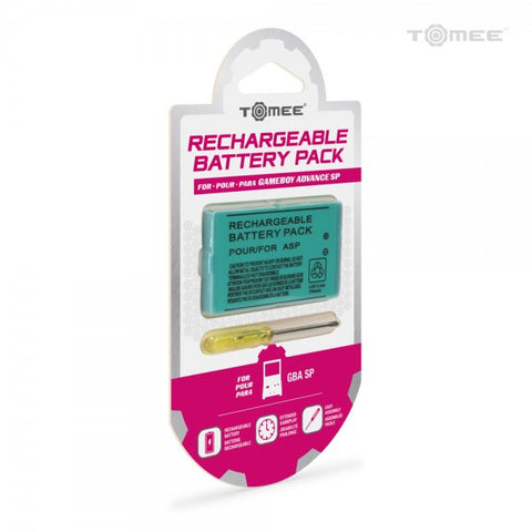 Gameboy Advance SP Battery Replacement Tomee New