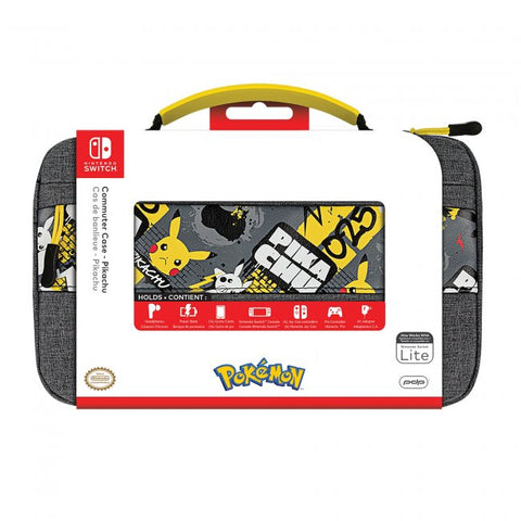 Switch Carry Case PDP Commuter Case Pikachu New