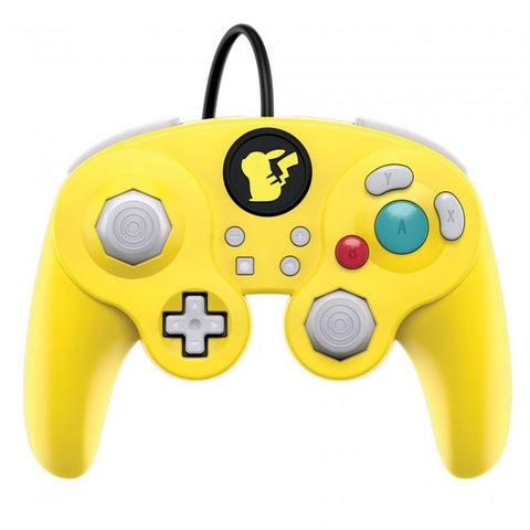 Switch Controller Wired PDP Fight Pad Gamecube Style Pikachu New