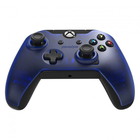 Xbox One Controller Wired PDP Midnight Blue New