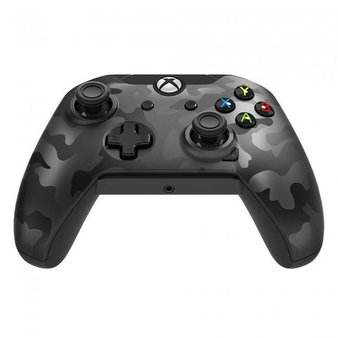Xbox One Controller Wired PDP Stealth Series Camo Phantom Black New