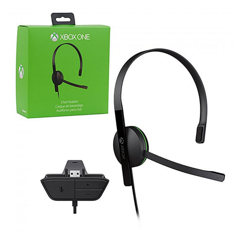 Xbox One Headset Wired Microsoft Chat New