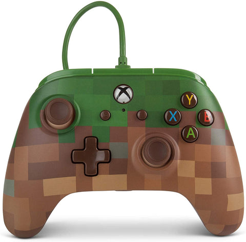 Xbox One Controller Wired Power A Minecraft New