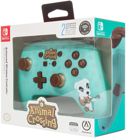 Switch Controller Wireless Power A Animal Crossing KK Slider New