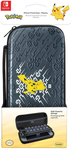 Switch Carry Case PDP Deluxe Travel Case Pikachu Element Edition New