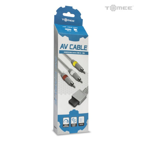 Wii AV Cable Tomee Wii WiiU New