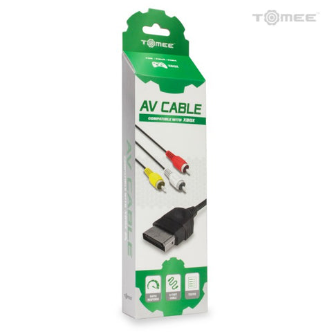 Xbox Original AV Cable Tomee New
