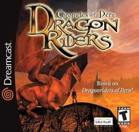 Dragon Riders Chronicles of Pern Dreamcast Used
