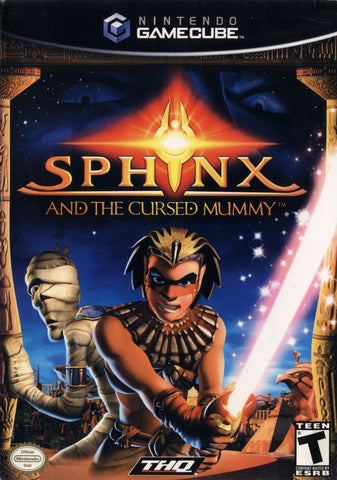 Sphinx And The Cursed Mummy GameCube Used