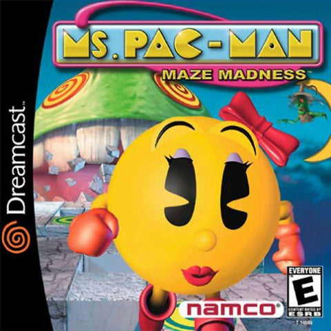 Ms Pac Man Maze Madness Dreamcast Used