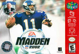 Madden 2002 N64 Used Cartridge Only