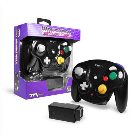 Gamecube Controller Wireless TTx Wavedash Black New