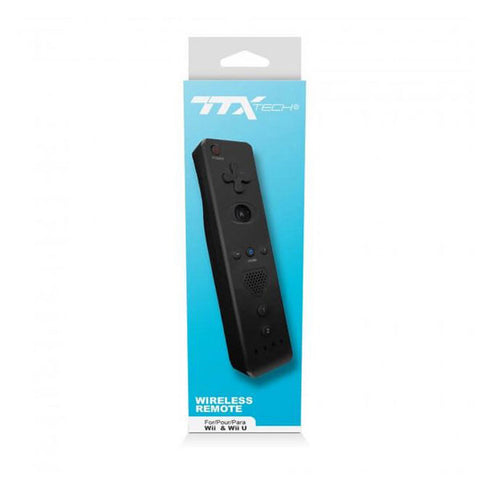 Wii Controller Wiimote Black TTX Tech New