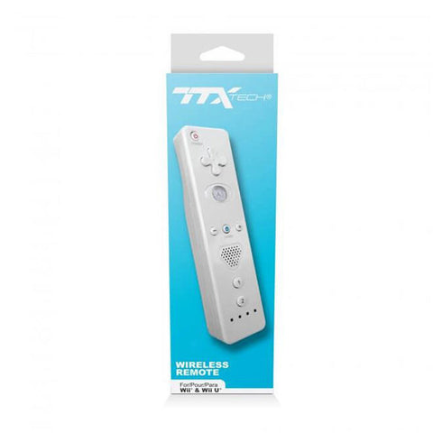 Wii Controller Wiimote White TTX Tech New