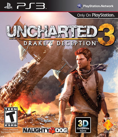 PS3 Uncharted 3 Drakes Deception New