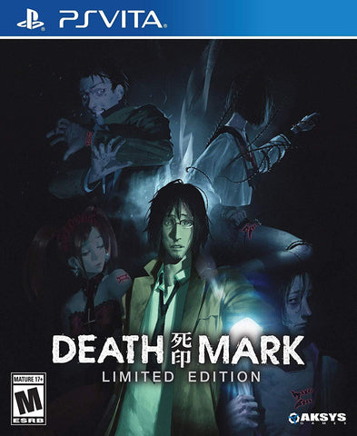 Death Mark Limited Edition PS Vita New