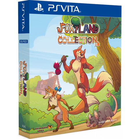 Foxyland Collection Import PS Vita New