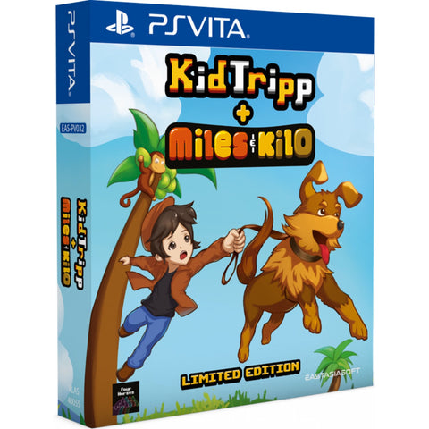 Kid Tripp + Miles & Kilo Collection Limited Edition Import PS Vita New