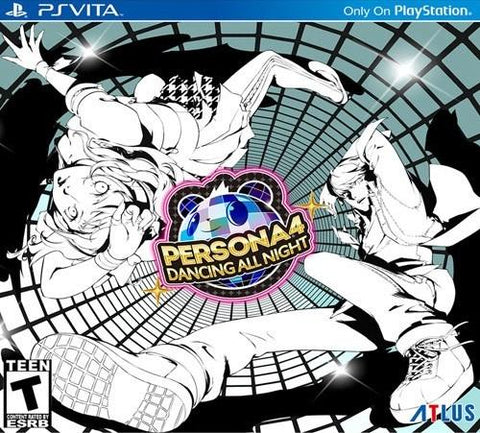 Persona 4 Dancing All Night Disco Fever Edition PS Vita Used