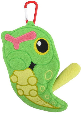 Pokemon Caterpie Pouch 8 Inch New