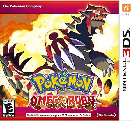 Pokemon Omega Ruby 3DS Used
