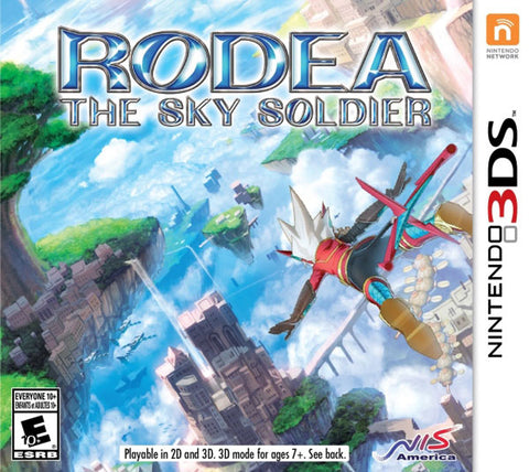 Rodea The Sky Soldier 3DS Used Cartridge Only