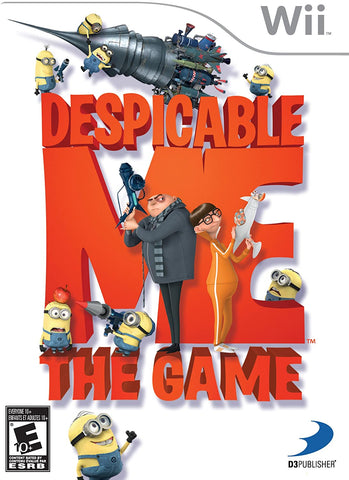 Despicable Me Wii Used