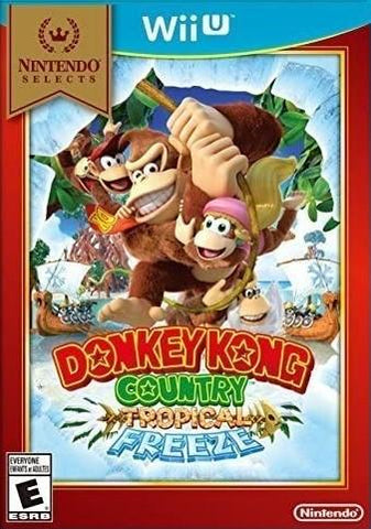 Donkey Kong Country Tropical Freeze Nintendo Selects WiiU Used