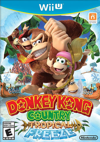 Donkey Kong Country Tropical Freeze Wii U Used