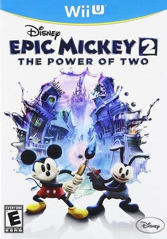 Epic Mickey 2 The Power Of Two Wii U Used