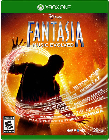 Disney Fantasia Music Evolved Kinect Required Xbox One Used