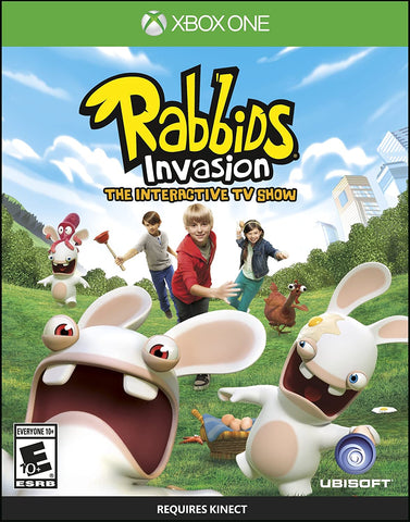 Rabbids Invasion Kinect Required Xbox One New