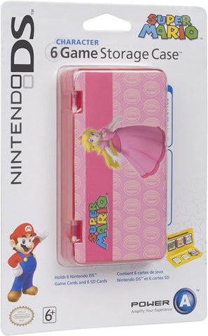 DS Case 6 Game Storage Princess Peach Power A New