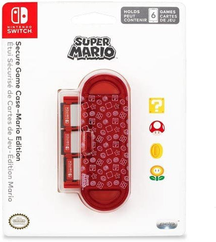 Switch Case 6 Game Storage PDP Mario New