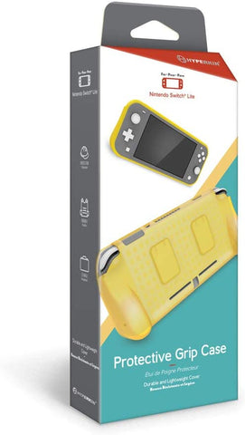 Switch Lite Protector Case and Grip Hyperkin Yellow New