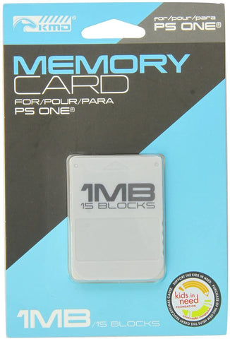 PS1 Memory Card KMD New