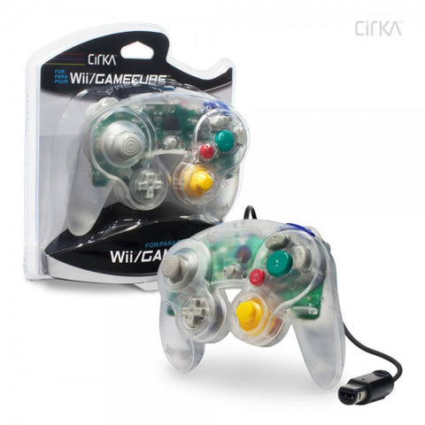 Gamecube Controller Wired Cirka Clear New